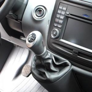 Schaltknauf Schaltsack Mercedes-Sprinter W906 leder