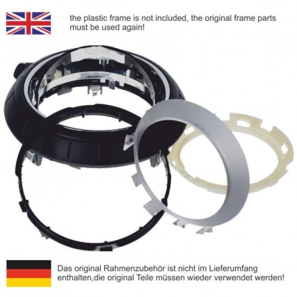 Schaltknauf Schaltsack Mini-Mini R60 / R61 leder